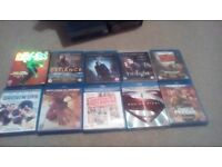 200 Blu Rays Some New And Sealed Free Delivery