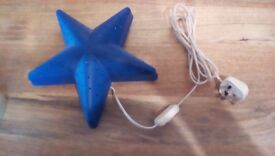 Blue Star wall light