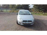 Fiat Punto 1.2 petrol, 2007, 12 months Mot