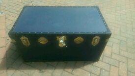 Mossman travel trunk chest
