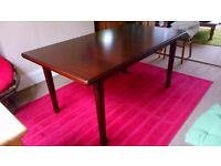 Wooden big dining table