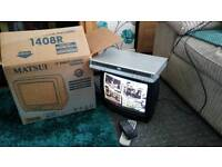 "14"" Remote Control TV + DVD player"