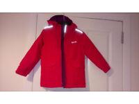 Girls Waterproof NEW Jacket 5-6 Years Regatta Outdoor , Pink (was £50)