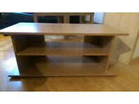 Side Shelf Oak Effect Coffee Table