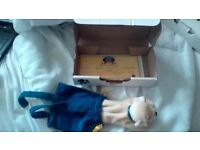 ANDREX PUPPY IN CARRY CASE 1999 WITH CERTIFICATE NEW