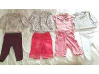 6-9 month baby girl clothes bundle 38 items