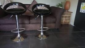Bar stools (2 off)