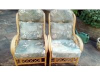 Conservatory Chairs x 2
