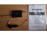 Wireless Guitar System Kam KWM1900
