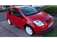 Citroen c2 gt in red in execelenet condition in and out