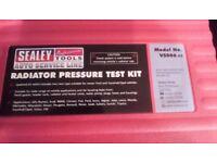 radiator pressure testing kit. sealey VS556 v2