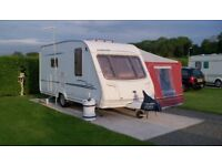 Sterling Eccles Amber Caravan 2 berth Full awning Motor mover End washroom Super condition in & out