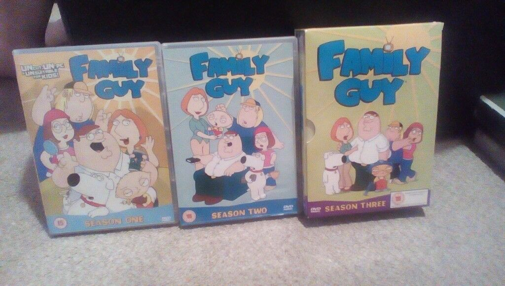 Family Guy Seasons 1,2,3 &2 Special Editions Dvd Box Sets Free Delivery