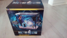 DR WHO FISH TANK + ACCESSORIES
