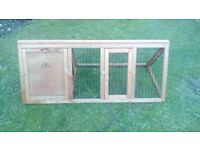 Pet run small with cover suit Guinea Pig nearly new.