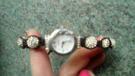 Blingy adjustable watch