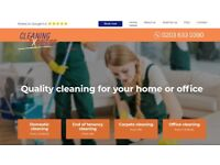 RELIABLE HOUSE CLEANING SERVICE, WEEKLY, FORTNIGHTLY, END OF TENANCY CLEANING and CARPET CLEANING