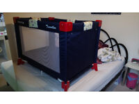 """""""Petite Star"""" Traveller Cot and Playpen with Carry Bag"""