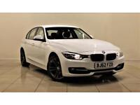 BMW 3 SERIES 2.0 320D SPORT 4d 184 BHP 2 PREV OWNER + S/HISTORY (white) 2012