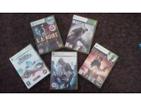 5 Great xbox 360 titles to enjoy.