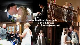 Creative Wedding Photography that WON'T break the bank.