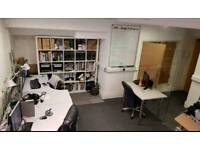 Office to rent in town with 2/3 desk space including all bills £500 pcm