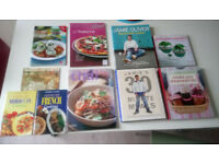 Cooking & Baking Books: Jamie Oliver, Thai, Italian, Moroccan, French, Scottish, Jams (as new)