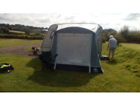 Caravan Awning-- Swift 220 Air. Large porch inflatable awning