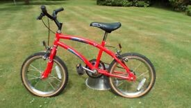 Childs bike for sale. Apollo Crazy Rider. Good condition. Would suit child aged 4 to 6 years old.