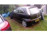 Vauxhall corsa low mileage spares. Good engine and alloys. Not used for 3/4 years