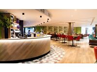 Monday to Friday waiter and bartender wanted for busy city bar in the heart of Moorgate.