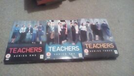 Teachers Seasons 1,2 & 3 Boxed Sets Free Delivery