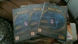 World of warcraft (game cards)