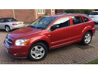 Dodge Caliber 2.0 TD SXT 5DR 2009 Red Manual Diesel 98,000 2owners