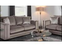 Portofino 3 Seater grey Sofa