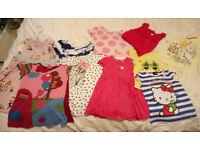 X10 Girls Clothes Bundle age 3-4 Years:Dresses,Tops (John Lewis etc)