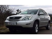 Lexus RX 300 - Low mileage, New MOT, New Battery, New Tyres. Top of range. Fabulous bargain!