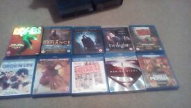 10 Blu Rays Free Delivery