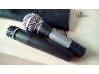 Shure Microphones x 2