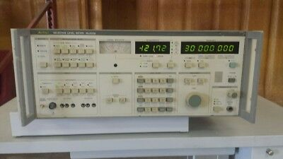 Anritsu Ml422b Selective Level Meter