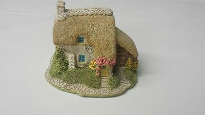 Lilliput Lane Puddlebrook Cottage Collectors Club 1991 Handmade in Cumbria UK