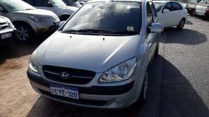 2008 Hyundai Getz SX Automatic Hatchback Kenwick Gosnells Area Preview