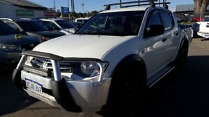 2013 MITSUBISHI TRITON GLX (4x4) MN MY13 DOUBLE CAB UTILITY 2.5L DIESEL TURBO AUTO