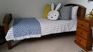 Groyears wooden kids single bed Seaforth Manly Area Preview
