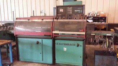 Kaltenbach Model Kks-401na Circular Automatic Cnc Cold Saw