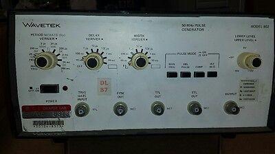 Wavetek 802 50mhz Pulse Generator