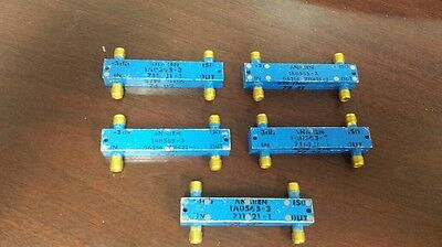Anaren 1a0565-3 Hybrid Couplers Lot Of 5