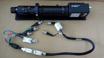 Navitar Zoom 6000 1-60135 6.5x Zoom With 1-6010 1-6010 And Cv-m300 Ccd