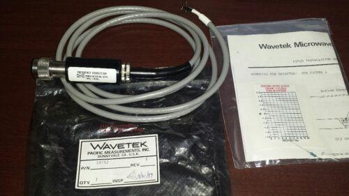Wavetek 13776 Power Detector Kit 14712 New