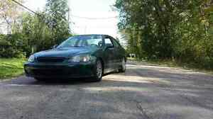 1999 Honda Civic si Coupe with b16a
